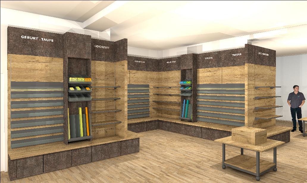 MUBUBU ein Store entsteht