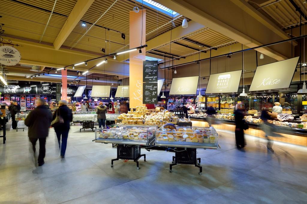 Real hat mit der Markthalle in Krefeld im Foodbereich die Branche überrumpelt
