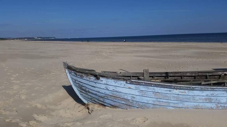 Ein peprfekter Strand für Barfussgänger und Sonnenanbeter