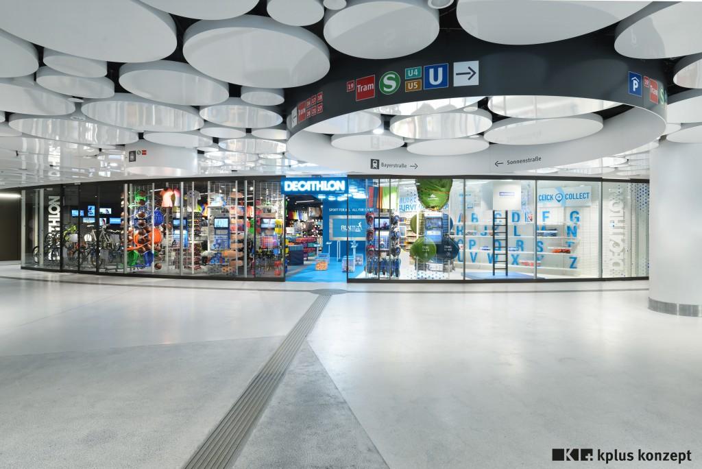 Decathlon Connectstore in München auf 200 m² punktet mit seinem digitalen Konzeptstore