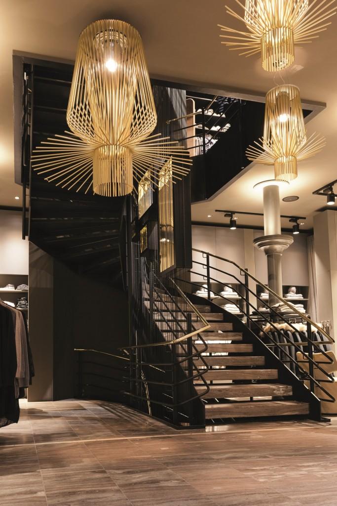Beleuchtung oder Treppenaufgang sind in den Fokus gesetzt worden